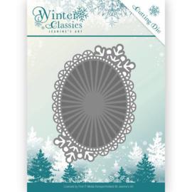 JAD10025 Snij- en embosmal - Winter Classic - Jenine's Art