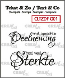 CLTZDFO01 Clearstempel - Deelneming - Crealies