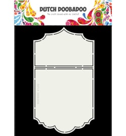 470.713.700 Ticket Stencil A5 - Dutch Doobadoo