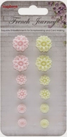 SCB250001093 Resin Flowers
