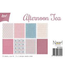 6011-0535 Papierset A4 - Afternoon Tea - Joy Crafts