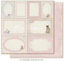 753 Scrappapier dubbelzijdig - Vintage Baby - Maja Design