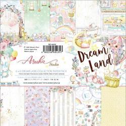 Paperpad 15x15cm - Dream Land Paper - 12 vel dubbelzijdig - Memory Place