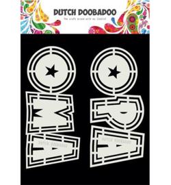 470.713.807 Dutch Shape Art A5 - Dutch Doobadoo