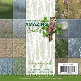 ADPP10035 Paperpad - Amazing Owls - Amy Design