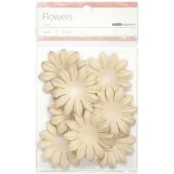 "SB827 Paper Flowers 1.97"" (5cm) 25 stuks - Taupe - Kaisercraft"