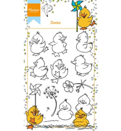 HT1615 Stempel - Ducks - Marianne Design