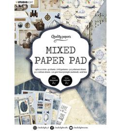 A5MPPSL162 - SL Mixed Paper Pad Pattern paper Essentials nr.162 - Studio Light