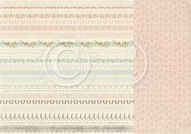 PD4010 Scrappapier Dubbelzijdig - Sweet Baby - Pion