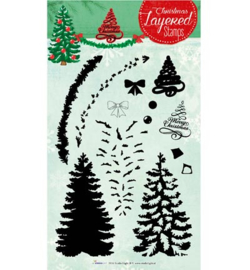 STAMPLS07 Layered Stamps Kerst - Studio Light