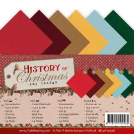 AD-4K10026 Karton 13,5 x 27 cm - History of Christmas - Amy Design