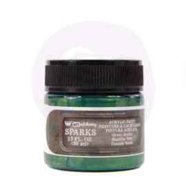 967765 Green Goblin - Finnabair Art Alchemy SPARKS Acrylic Paint  - PAKKETPOST!