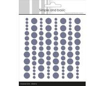 SBA016 Enamal dots 96 stuks - Simple and Basic
