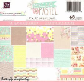 845636 Paperpad Hello Pastel - Prima Marketing