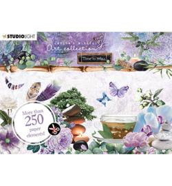 A6StansJMA05 Stansblok A6 - Jenine's Mindful Art Time ro Relax - Studio Light