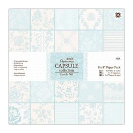 PMA160227 Paperpad 20,5 x 20,5 cm - Eau de Nil - Do Crafts