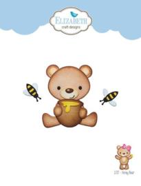 1727 Snijmal Honey Bear - Elizabeth Craft
