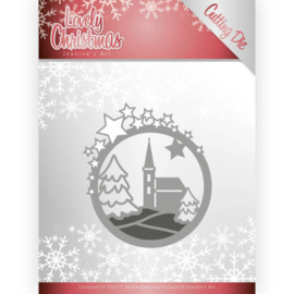 JAD10082 Snij- en embosmal  - Lovely Christmas - Jeanine's Art