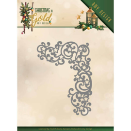 ADD10185 Snij- en embosmal - Christmas Gold - Amy Design