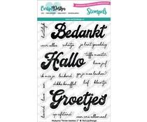 CDST0049 Clearstempel NL tekst - Carlijn Design
