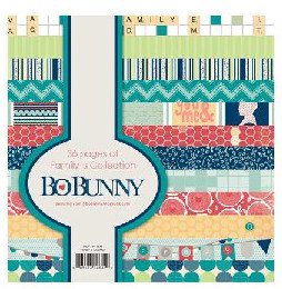 Paperpad 15,2 x 15,2 cm - Family  -  Bo Bunny