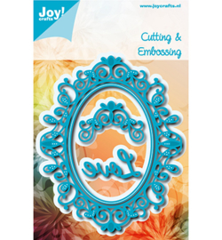 6002-1112 Snij- en embosmal - Joy Crafts