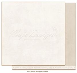 1165 Scrappapier dubbelzijdig Monochromes  -  Tropicial Garden - Maja Design
