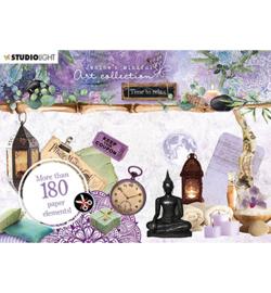 A6StansJMA06 Stansblok A6 - Jenine's Mindful Art Time ro Relax - Studio Light