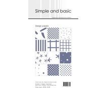 SBP908 Slim Paperpack 21x10cm - 24 stuks - Simple and Basic