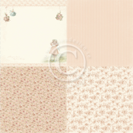 PD19001 Scrappapier - Life is Peachy - Pion Design