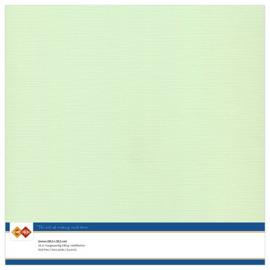 19 Licht Groen - Linnen Karton 30,5 x 30,5cm - 10 stuks - 200 grams - Card Deco - PAKKETPOST!!