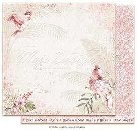 1151 Scrappapier dubbelzijdig -  Tropicial Garden - Maja Design
