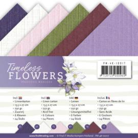 PM4K10017 Karton 13.5 x 27cm - Timeless Flowers - Marieke Design