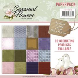 PMPP10013 Paperpad - Seasonal Flowers - Marieke Design