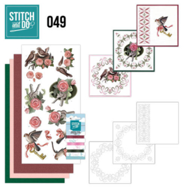 Stitch en Do nr. 49 - Vogels
