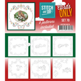 Cards Only Stitch and Do set 70