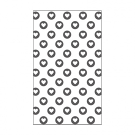 "100604-113 Dots Embossingstencil 3x5""- Vaessen"