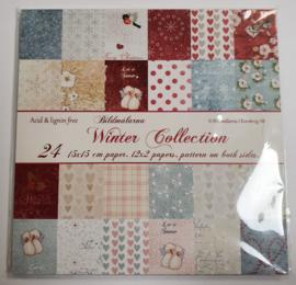 Paperpad 15,2 x 15,2 cm -Winter Collections - Bildmalarna