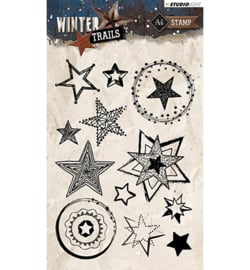 STAMPWT300 Clear stempel - Winter Trails - Studio Light