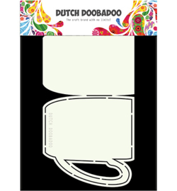 470.713.675 Card Art Stencil A5 - Dutch Doobadoo