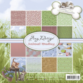 ADPP10006 Paperpad - Animal Medley - Amy Design