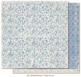 833 Scrappapier dubbelzijdig - Vintage Romance - Maja Design