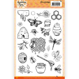 JACS10037 Clearstempel - Humming Bees - Jeanines Art