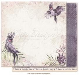 1158 Scrappapier dubbelzijdig -  Tropicial Garden - Maja Design