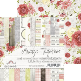 Paperpad 15,2 x 15,2 cm - Always Together - Craft-O-Clock