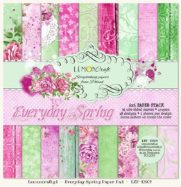 Paperpad 15.2 x 15.2 cm Everyday Spring 36 vel - Lemon Craft
