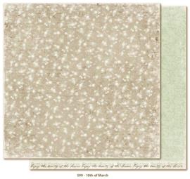 599 Scrappapier dubbelzijdig - Vintage Spring - Maja Design