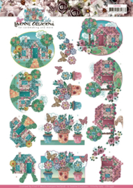 CD11436 3D vel A4 - Kitschy Lala - Yvonne Design
