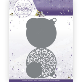 PM10208 Snij- en embosmal - The Best Christmas Ever - Marieke Design