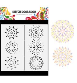 470.784.011 - Mask Art Slimline Mandalas - Dutch Doobadoo